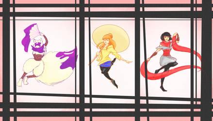 TMNT Girls by MaAwezoom