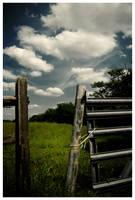 Country Fence by Konijntje