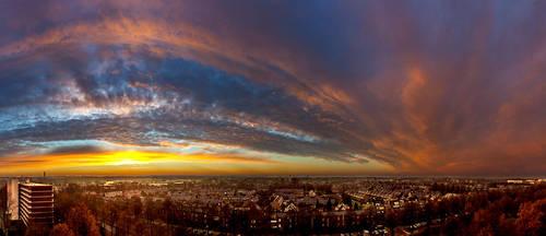 Ede Sunrise 7-12-14 by FlorisArt
