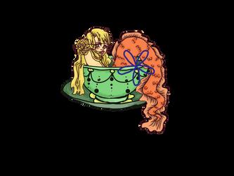OTA Teacup Mermaid (OPEN) by DreamingOfTheWeekend