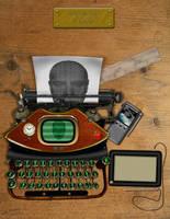 JulesVerne Laptop by ctribeiro