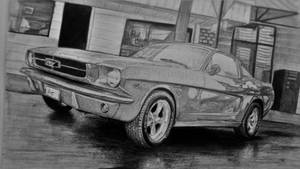 1967 Mustang for my brother. by cardesigner123
