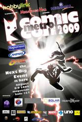 The 1st Metro Comic-Con Poster by manilacomic-con