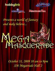 Mega Masquerade Ball by manilacomic-con