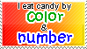 Candy Stamp by WetWithRain
