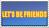 Friends Stamp by WetWithRain