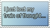 Thoughts Stamp by WetWithRain