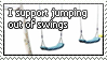 Swings Stamp by WetWithRain