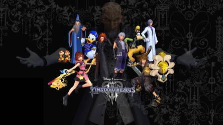 Kingdom Hearts III Wallpaper (Fanmade) #5 by sluggunner007