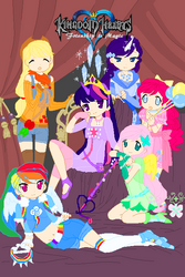 My Little Pony:Kingdom Hearts by HatterM97
