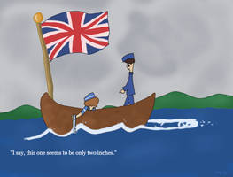 Britannia Rules The Waves by MarkKB