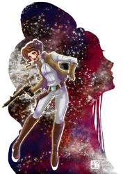 Star Wars Leia by suu-hideto