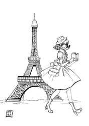Sketchbook , J'aime Paris by suu-hideto