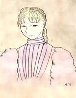 Rosamond Grey Painting by Hestia-Edwards