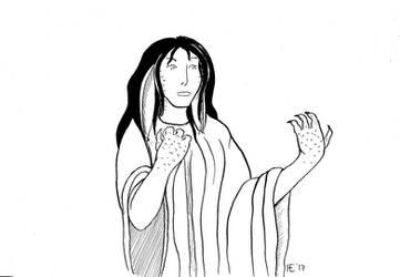 Lady Halaina--Character Design Debate by Hestia-Edwards