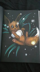 Eevee by Tiialle