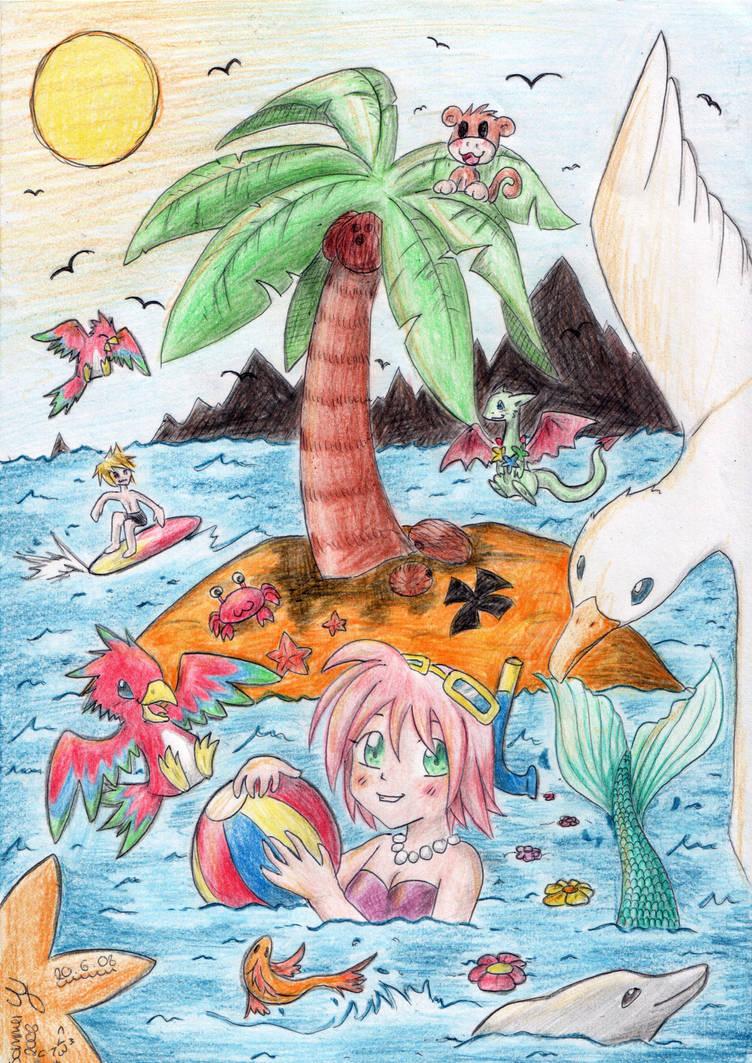 Summer Vacation by Lexvandis