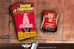 Sector Expresion Flyer 1 by Undesigns