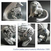 Pegasus Zodiac Rat Pony by elfenkatze