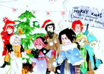 GREATEST CHIBI CHRISTMAS EVER by WhytManga