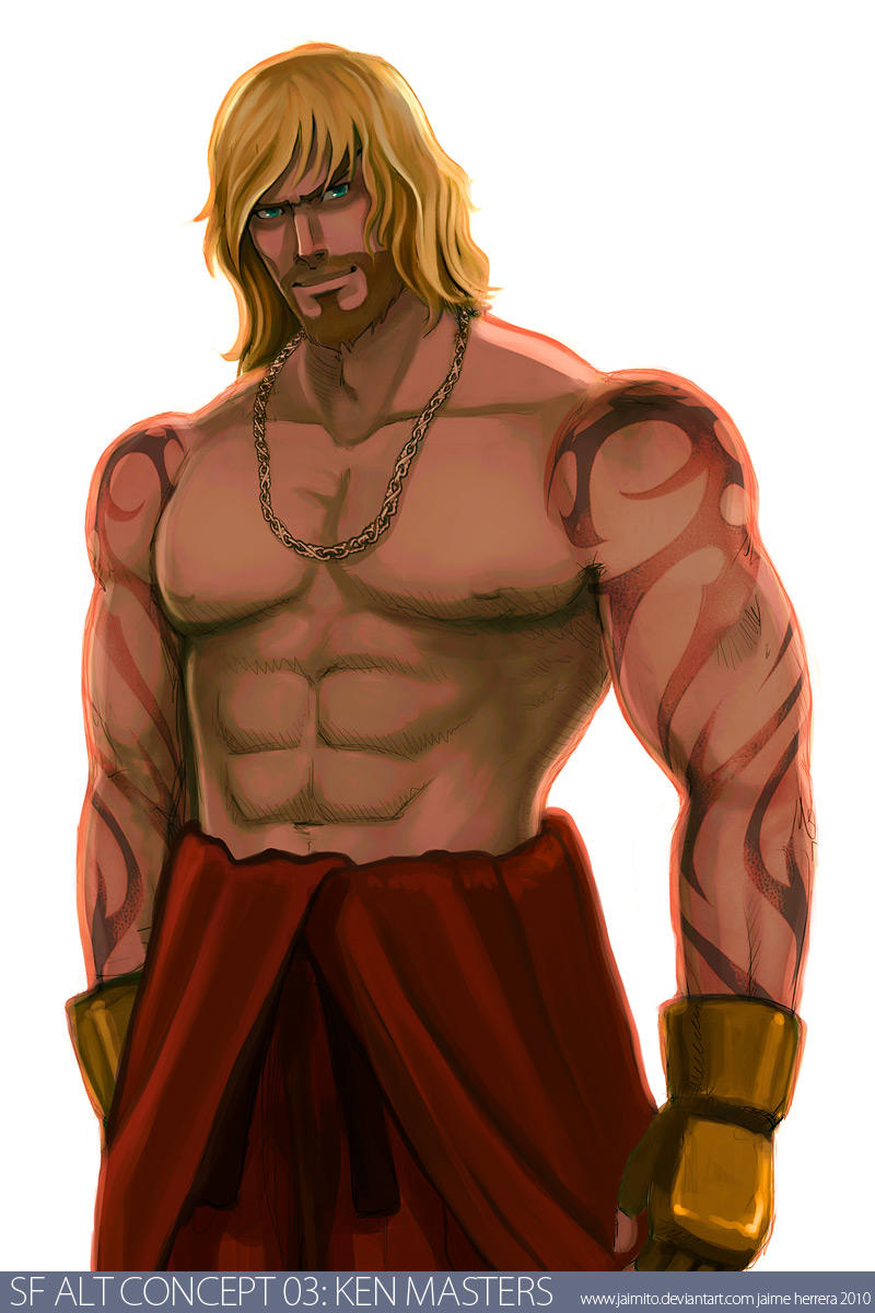 SF Alt Concept 03 Ken Masters by jaimito