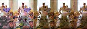 Street Fighter 25th Anniversary tribute process by jaimito