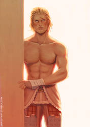 Final Fantasy XII Basch fon Ronsenburg by jaimito