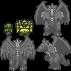 New monsters by kerringer