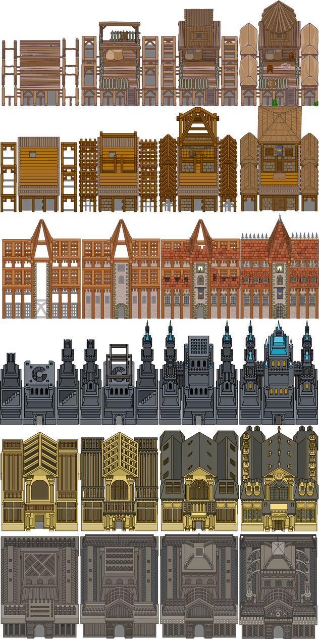 Town Centers by kerringer