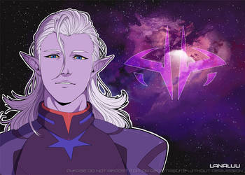 Voltron: Lotor by Lanaluu