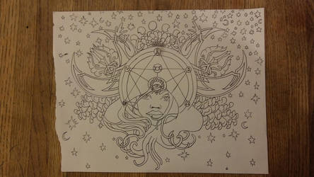 Aries moon Draft by Arokachikachaka