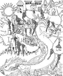FAIREy Line art-WIP by Arokachikachaka