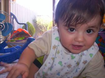 Cheeky baby by PrincessHellz