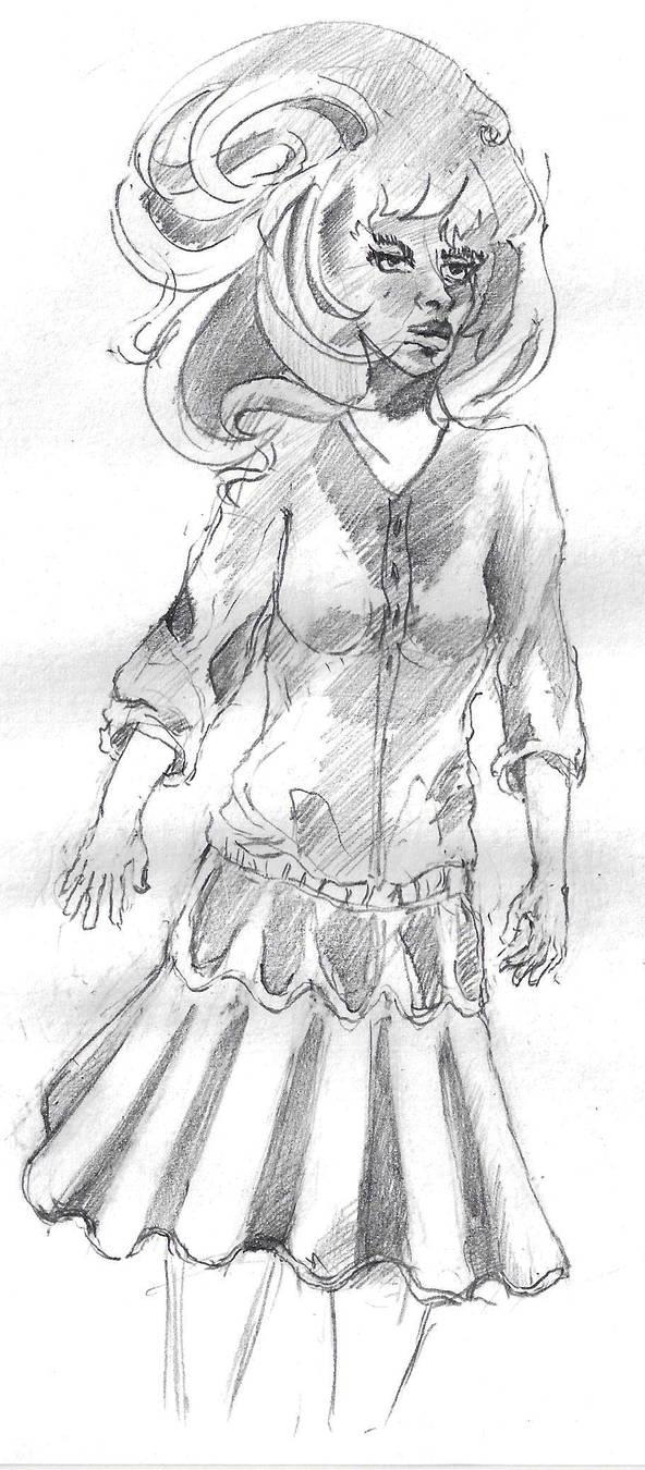 Sketch by vulcain0