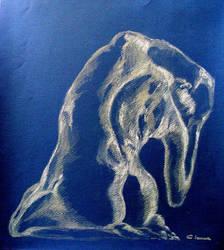 nude study by cristitrian