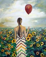 Sun flower's sister by cristitrian