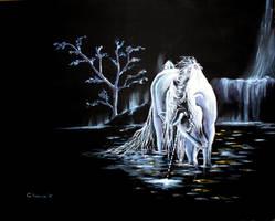 Unicorn by cristitrian