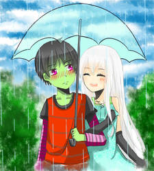 under my umbrella[request] by UtingY