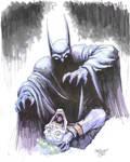 Batman and Joker by ChrisMoreno