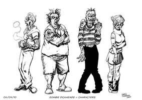 Zombie Dickheads by ChrisMoreno