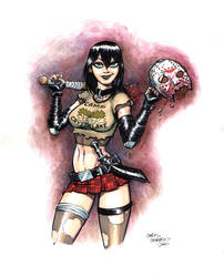 Cassie Hack vs. Jason by ChrisMoreno