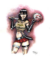 Cassie Hack vs. Jason by ChrisMoreno