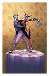 Joker Harley cake topper 2011 by ChrisMoreno