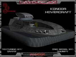 Kondor Attack Hovercraft Pic01 by Grafix71