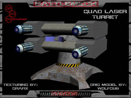 3D Quad Laser Turret Pic 01 by Grafix71