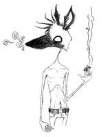 smokin' dog dude by deadxfish