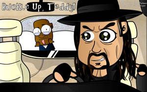 Buckle Up Teddy - Wallpaper by kapaeme