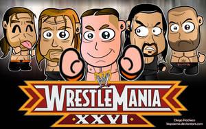 WrestleMania XXVI Wallpaper by kapaeme