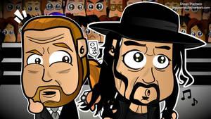 Triple H and Undertaker 2012 Wallpaper by kapaeme