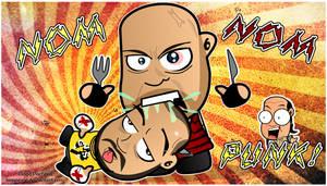 Ryback Noms CM Punk Wallpaper by kapaeme